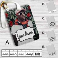 Lil Yachty Music Custom Leather Luggage Tag