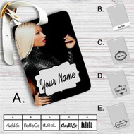 Nicki Minaj Custom Leather Luggage Tag