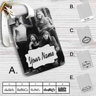 Pink Floyd Family Custom Leather Luggage Tag