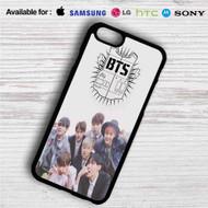 Bangtan Boys BTS iPhone 4/4S 5 S/C/SE 6/6S Plus 7| Samsung Galaxy S4 S5 S6 S7 NOTE 3 4 5| LG G2 G3 G4| MOTOROLA MOTO X X2 NEXUS 6| SONY Z3 Z4 MINI| HTC ONE X M7 M8 M9 M8 MINI CASE