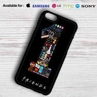 Friends TV Quotes iPhone 4/4S 5 S/C/SE 6/6S Plus 7| Samsung Galaxy S4 S5 S6 S7 NOTE 3 4 5| LG G2 G3 G4| MOTOROLA MOTO X X2 NEXUS 6| SONY Z3 Z4 MINI| HTC ONE X M7 M8 M9 M8 MINI CASE