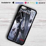 Megadeth Dystopia iPhone 4/4S 5 S/C/SE 6/6S Plus 7| Samsung Galaxy S4 S5 S6 S7 NOTE 3 4 5| LG G2 G3 G4| MOTOROLA MOTO X X2 NEXUS 6| SONY Z3 Z4 MINI| HTC ONE X M7 M8 M9 M8 MINI CASE