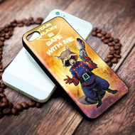 ROCKET RACCOON galaxy of the guardian on your case iphone 4 4s 5 5s 5c 6 6plus 7 case / cases