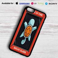 Squirtle Pokemon in Case of Fire iPhone 4/4S 5 S/C/SE 6/6S Plus 7| Samsung Galaxy S4 S5 S6 S7 NOTE 3 4 5| LG G2 G3 G4| MOTOROLA MOTO X X2 NEXUS 6| SONY Z3 Z4 MINI| HTC ONE X M7 M8 M9 M8 MINI CASE