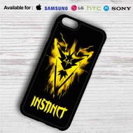 Team Instinct Pokemon GO iPhone 4/4S 5 S/C/SE 6/6S Plus 7| Samsung Galaxy S4 S5 S6 S7 NOTE 3 4 5| LG G2 G3 G4| MOTOROLA MOTO X X2 NEXUS 6| SONY Z3 Z4 MINI| HTC ONE X M7 M8 M9 M8 MINI CASE
