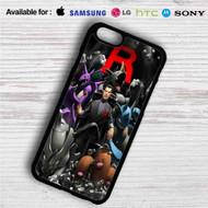 Team Rocket Leader Pokemon iPhone 4/4S 5 S/C/SE 6/6S Plus 7| Samsung Galaxy S4 S5 S6 S7 NOTE 3 4 5| LG G2 G3 G4| MOTOROLA MOTO X X2 NEXUS 6| SONY Z3 Z4 MINI| HTC ONE X M7 M8 M9 M8 MINI CASE