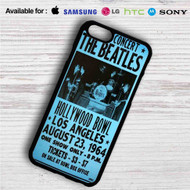 The Beatles Hollywood Bowl iPhone 4/4S 5 S/C/SE 6/6S Plus 7| Samsung Galaxy S4 S5 S6 S7 NOTE 3 4 5| LG G2 G3 G4| MOTOROLA MOTO X X2 NEXUS 6| SONY Z3 Z4 MINI| HTC ONE X M7 M8 M9 M8 MINI CASE