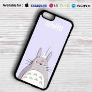 Totoro and Little Totoro Studio Ghibli iPhone 4/4S 5 S/C/SE 6/6S Plus 7| Samsung Galaxy S4 S5 S6 S7 NOTE 3 4 5| LG G2 G3 G4| MOTOROLA MOTO X X2 NEXUS 6| SONY Z3 Z4 MINI| HTC ONE X M7 M8 M9 M8 MINI CASE