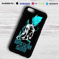 Vegeta Super Saiyan God Blue iPhone 4/4S 5 S/C/SE 6/6S Plus 7| Samsung Galaxy S4 S5 S6 S7 NOTE 3 4 5| LG G2 G3 G4| MOTOROLA MOTO X X2 NEXUS 6| SONY Z3 Z4 MINI| HTC ONE X M7 M8 M9 M8 MINI CASE