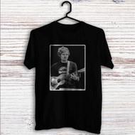 Ed Sheeran With Guitar Custom T Shirt Tank Top Men and Woman