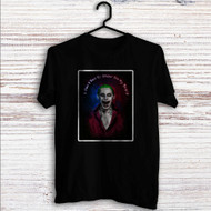Jared Leto as Joker Suicide Squad Quotes Custom T Shirt Tank Top Men and Woman