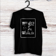 Luffy We Go to The New World Custom T Shirt Tank Top Men and Woman