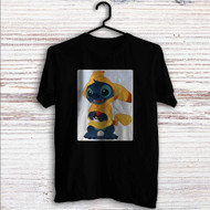 Stitch as Pikachu Pokemon Custom T Shirt Tank Top Men and Woman