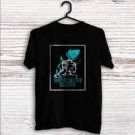 Vegeta Super Saiyan God Blue Custom T Shirt Tank Top Men and Woman
