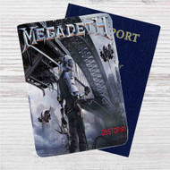 Megadeth Dystopia Custom Leather Passport Wallet Case Cover
