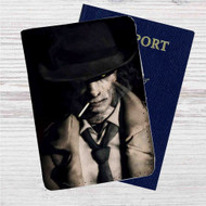 Nick Valentine Fallout 4 Custom Leather Passport Wallet Case Cover