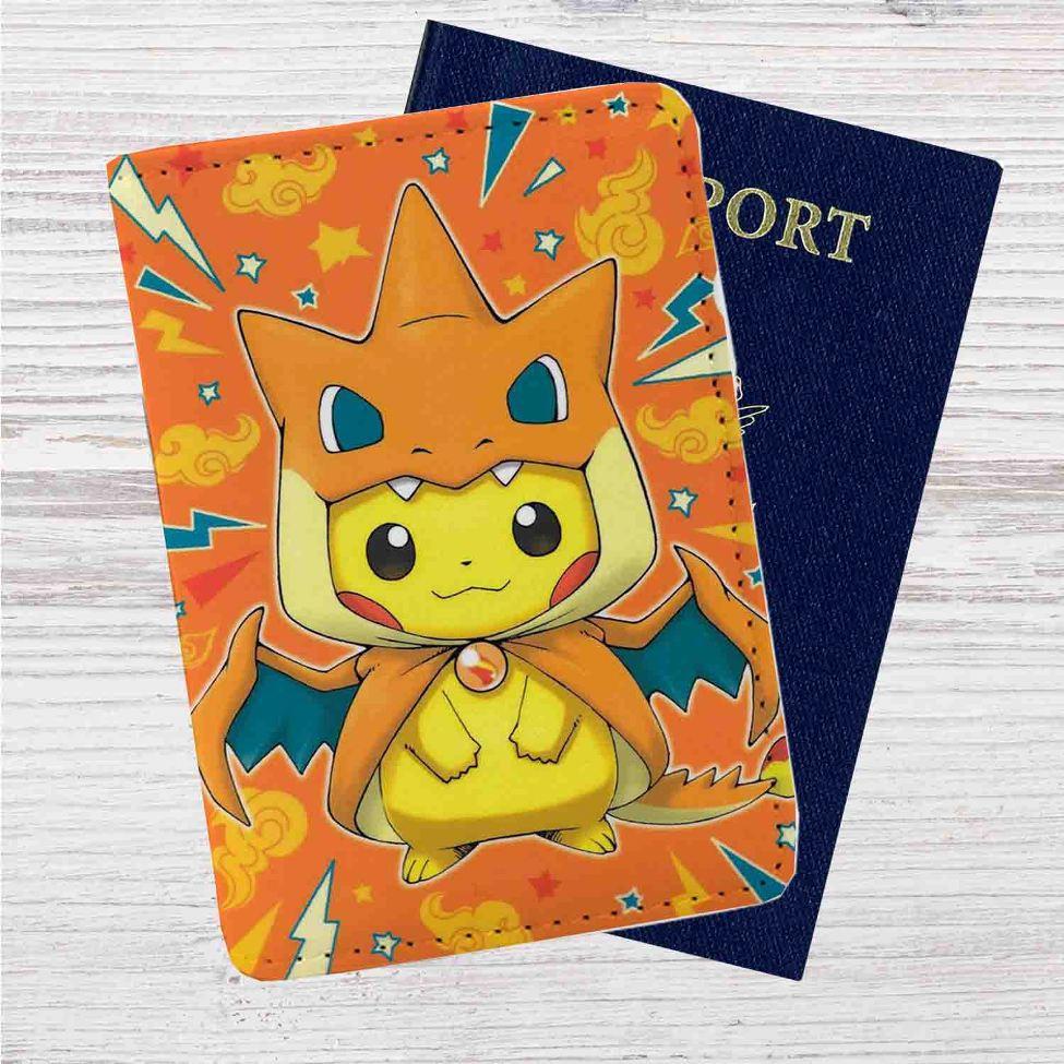 Series Pikachu Passport Case Cover