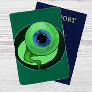 Sam the Septic Eye Custom Leather Passport Wallet Case Cover