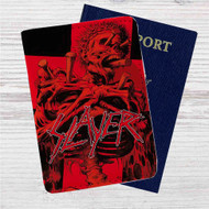 Slayer Repentless Vol 1 Custom Leather Passport Wallet Case Cover