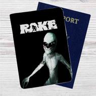 The Rake Multiplayer Custom Leather Passport Wallet Case Cover