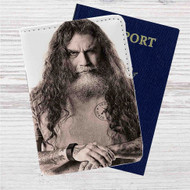 Tom Araya Slayer Custom Leather Passport Wallet Case Cover