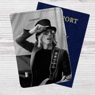 Tom Petty Custom Leather Passport Wallet Case Cover