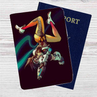 Tracer Overwatch Custom Leather Passport Wallet Case Cover