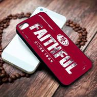San Francisco 49ers on your case iphone 4 4s 5 5s 5c 6 6plus 7 case / cases