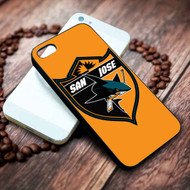 San Jose Sharks on your case iphone 4 4s 5 5s 5c 6 6plus 7 case / cases