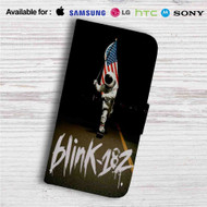 Blink 182 Since 1992 Custom Leather Wallet iPhone 4/4S 5S/C 6/6S Plus 7| Samsung Galaxy S4 S5 S6 S7 Note 3 4 5| LG G2 G3 G4| Motorola Moto X X2 Nexus 6| Sony Z3 Z4 Mini| HTC ONE X M7 M8 M9 Case