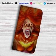 Dark Phoenix Custom Leather Wallet iPhone 4/4S 5S/C 6/6S Plus 7| Samsung Galaxy S4 S5 S6 S7 Note 3 4 5| LG G2 G3 G4| Motorola Moto X X2 Nexus 6| Sony Z3 Z4 Mini| HTC ONE X M7 M8 M9 Case
