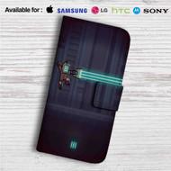 Dead Space Megaman Custom Leather Wallet iPhone 4/4S 5S/C 6/6S Plus 7| Samsung Galaxy S4 S5 S6 S7 Note 3 4 5| LG G2 G3 G4| Motorola Moto X X2 Nexus 6| Sony Z3 Z4 Mini| HTC ONE X M7 M8 M9 Case