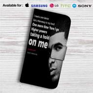 Drake Feat WizKid and Kyla One Dance Custom Leather Wallet iPhone 4/4S 5S/C 6/6S Plus 7| Samsung Galaxy S4 S5 S6 S7 Note 3 4 5| LG G2 G3 G4| Motorola Moto X X2 Nexus 6| Sony Z3 Z4 Mini| HTC ONE X M7 M8 M9 Case