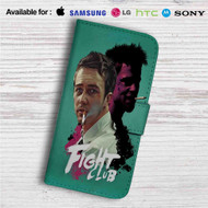 Fight Club Custom Leather Wallet iPhone 4/4S 5S/C 6/6S Plus 7| Samsung Galaxy S4 S5 S6 S7 Note 3 4 5| LG G2 G3 G4| Motorola Moto X X2 Nexus 6| Sony Z3 Z4 Mini| HTC ONE X M7 M8 M9 Case