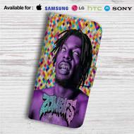 Flatbush Zombies Music Custom Leather Wallet iPhone 4/4S 5S/C 6/6S Plus 7| Samsung Galaxy S4 S5 S6 S7 Note 3 4 5| LG G2 G3 G4| Motorola Moto X X2 Nexus 6| Sony Z3 Z4 Mini| HTC ONE X M7 M8 M9 Case