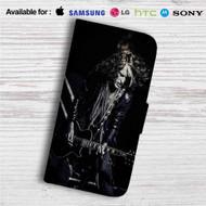 Joe Perry Aerosmith Custom Leather Wallet iPhone 4/4S 5S/C 6/6S Plus 7| Samsung Galaxy S4 S5 S6 S7 Note 3 4 5| LG G2 G3 G4| Motorola Moto X X2 Nexus 6| Sony Z3 Z4 Mini| HTC ONE X M7 M8 M9 Case