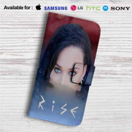 Katy Perry Rise Custom Leather Wallet iPhone 4/4S 5S/C 6/6S Plus 7| Samsung Galaxy S4 S5 S6 S7 Note 3 4 5| LG G2 G3 G4| Motorola Moto X X2 Nexus 6| Sony Z3 Z4 Mini| HTC ONE X M7 M8 M9 Case