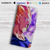 Majin Vegeta Custom Leather Wallet iPhone 4/4S 5S/C 6/6S Plus 7| Samsung Galaxy S4 S5 S6 S7 Note 3 4 5| LG G2 G3 G4| Motorola Moto X X2 Nexus 6| Sony Z3 Z4 Mini| HTC ONE X M7 M8 M9 Case