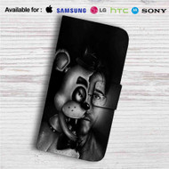 Markipler Freddy Fazbear Custom Leather Wallet iPhone 4/4S 5S/C 6/6S Plus 7| Samsung Galaxy S4 S5 S6 S7 Note 3 4 5| LG G2 G3 G4| Motorola Moto X X2 Nexus 6| Sony Z3 Z4 Mini| HTC ONE X M7 M8 M9 Case