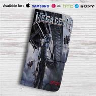 Megadeth Dystopia Custom Leather Wallet iPhone 4/4S 5S/C 6/6S Plus 7| Samsung Galaxy S4 S5 S6 S7 Note 3 4 5| LG G2 G3 G4| Motorola Moto X X2 Nexus 6| Sony Z3 Z4 Mini| HTC ONE X M7 M8 M9 Case