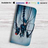 MegaMan Rebuild Custom Leather Wallet iPhone 4/4S 5S/C 6/6S Plus 7| Samsung Galaxy S4 S5 S6 S7 Note 3 4 5| LG G2 G3 G4| Motorola Moto X X2 Nexus 6| Sony Z3 Z4 Mini| HTC ONE X M7 M8 M9 Case