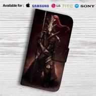 Ornstein Dark Souls Custom Leather Wallet iPhone 4/4S 5S/C 6/6S Plus 7| Samsung Galaxy S4 S5 S6 S7 Note 3 4 5| LG G2 G3 G4| Motorola Moto X X2 Nexus 6| Sony Z3 Z4 Mini| HTC ONE X M7 M8 M9 Case