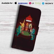 Pokemon Playing Card Custom Leather Wallet iPhone 4/4S 5S/C 6/6S Plus 7| Samsung Galaxy S4 S5 S6 S7 Note 3 4 5| LG G2 G3 G4| Motorola Moto X X2 Nexus 6| Sony Z3 Z4 Mini| HTC ONE X M7 M8 M9 Case
