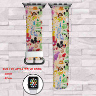 Disney Kids All Characters Custom Apple Watch Band Leather Strap Wrist Band Replacement 38mm 42mm