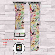 Disney Kids Custom Apple Watch Band Leather Strap Wrist Band Replacement 38mm 42mm