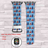 Disney Nemo and Dory Custom Apple Watch Band Leather Strap Wrist Band Replacement 38mm 42mm