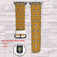 Haikyuu!! Volley Ball Custom Apple Watch Band Leather Strap Wrist Band Replacement 38mm 42mm