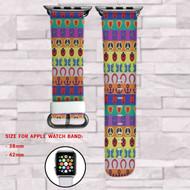 Jojo Bizarre Adventure Custom Apple Watch Band Leather Strap Wrist Band Replacement 38mm 42mm