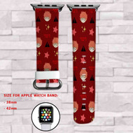 Mystic Messenger 707 Custom Apple Watch Band Leather Strap Wrist Band Replacement 38mm 42mm