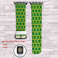 The Legend of Zelda Custom Apple Watch Band Leather Strap Wrist Band Replacement 38mm 42mm